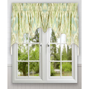 Terlina 30 x 100-Inch Lined 2-Piece Duchess Valance