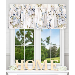 Chatsworth Blue 70 x 15 Inch Tailored Valance