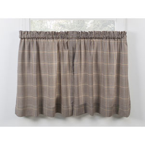 Morrison Patriot 56 x 24-Inch Tailored Tier Curtains