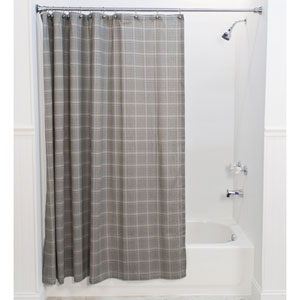 Morrison Black 72 x 72-Inch Shower Curtain