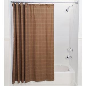 Morrison Rust 72 x 72-Inch Shower Curtain