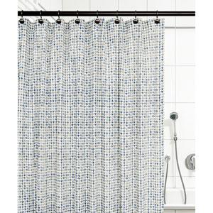 Davins Blue 72 x 72 Inch Shower Curtain