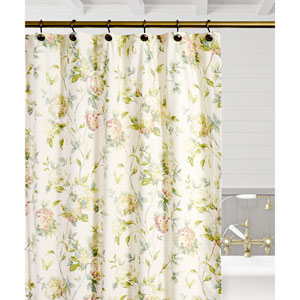 Abigail Multicolor 72 x 72 Inch Shower Curtain