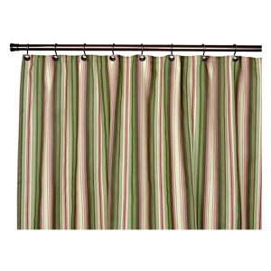 Montego Stripe Green 72 x 72-Inch Shower Curtain