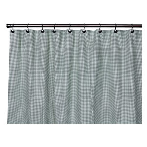 Logan Check Green 72 x 72-Inch Shower Curtain