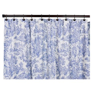 Victoria Park Blue 70 x 72-Inch Shower Curtain