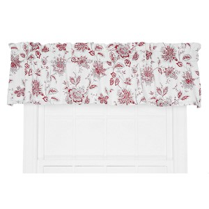Winston Red 70 x 12-Inch Tailored Valance