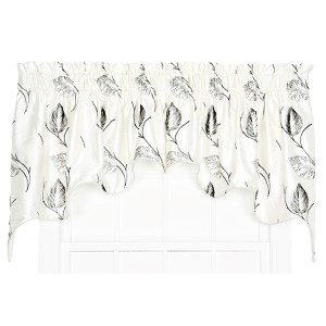 Astonish Onyx 100 x 30-Inch Duchess Valance Pair