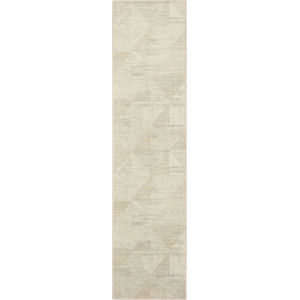 Kayenta Brown Neutral Geometric Abstract Runner: 2 Ft. x 8 Ft.