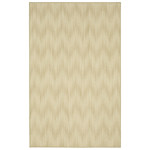 Design Concepts Almond Cream Rectangular: 5 Ft. 6 In. x 7 Ft. 5 In. Rug