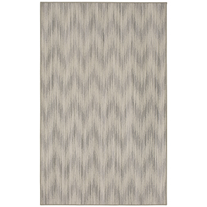 Design Concepts Light Gray Rectangular: 5 Ft. 6 In. x 7 Ft. 5 In. Rug