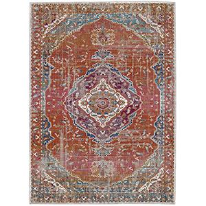 Meraki Solace Multicolor Rectangular: 5 Ft. x 8 Ft. Rug