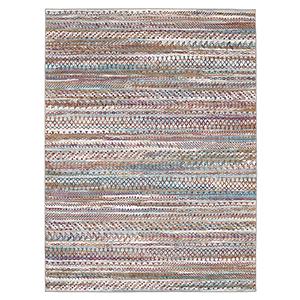 Meraki Wayward Multicolor Oyster Rectangular: 2 Ft. x 3 Ft. Rug