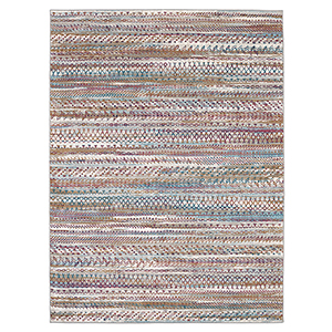 Meraki Wayward Multicolor Oyster Rectangular: 5 Ft. x 8 Ft. Rug