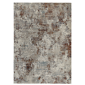 Meraki Apex Ginger Oyster Rectangular: 5 Ft. x 8 Ft. Rug