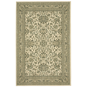 Euphoria Newbridge Natural Willow Gray Rectangular: 3 Ft. 6 In. x 5 Ft. 6 In. Rug