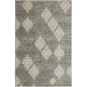 Euphoria Wexford Willow Gray Rectangular: 8 Ft. x 11 Ft. Rug