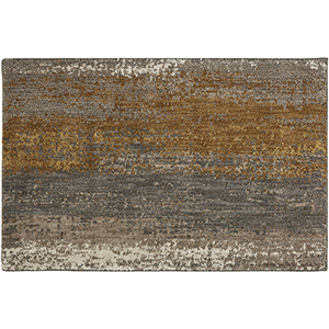 Enigma Desert Smokey Gray Rectangular: 2 Ft. x 3 Ft. Rug