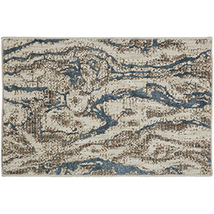 Enigma Alluvium Robins Egg Multicolor Rectangular: 2 Ft. x 3 Ft. Rug