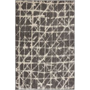 Enigma Smokey Gray Rectangular: 5 Ft. 3 In. x 7 Ft. 10 In. Rug