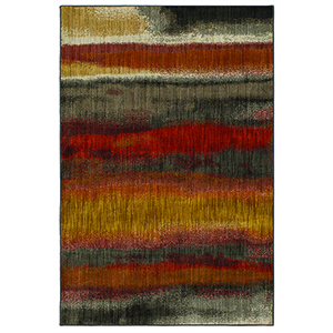 Elements Multicolor Rectangular: 5 Ft. 3 In. x 7 Ft. 10 In. Rug
