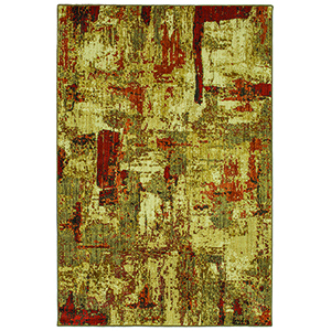 Elements Gold Multicolor Rectangular: 5 Ft. 3 In. x 7 Ft. 10 In. Rug