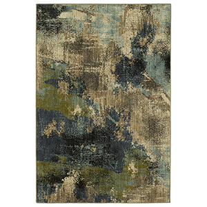 Elements Multicolor Oyster Rectangular: 8 Ft. x 11 Ft. Rug