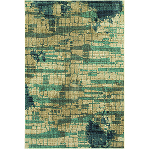 Elements Oyster Admiral Blue Rectangular: 5 Ft. 3 In. x 7 Ft. 10 In. Rug