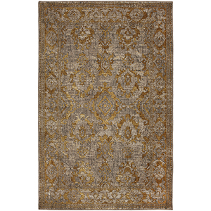 Cosmopolitan Smokey Gray Rectangular: 5 Ft. 3 In. x 7 Ft. 10 In. Rug