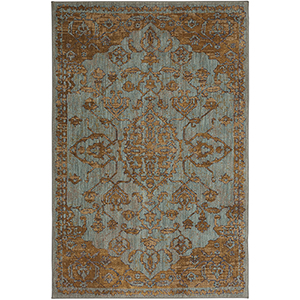 Cosmopolitan Jade Multicolor Rectangular: 5 Ft. 3 In. x 7 Ft. 10 In. Rug