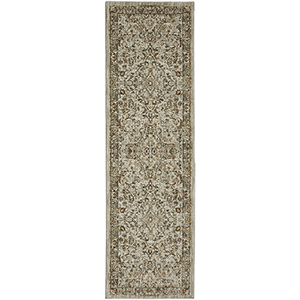 Touchstone Portree Willow Gray Multicolor Runner: 2 Ft. 4 In. x 7 Ft. 10 In.