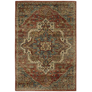 Elements Spice Taupe Rectangular: 5 Ft. 3 In. x 7 Ft. 10 In. Rug