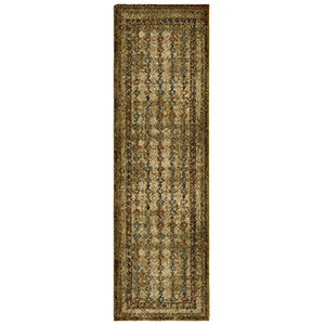 Spice Market Gold Tobacco Runner: 2 Ft. 4 In. x 7 Ft. 10 In.
