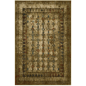 Spice Market Gold Tobacco Rectangular: 5 Ft. 3 In. x 7 Ft. 10 In. Rug