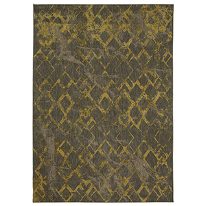 Cosmopolitan Gold Smokey Gray Runner: 2 Ft. 4 In. x 7 Ft. 10 In.