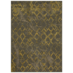 Cosmopolitan Gold Smokey Gray Rectangular: 5 Ft. 3 In. x 7 Ft. 10 In. Rug