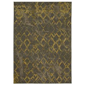 Cosmopolitan Gold Smokey Gray Rectangular: 8 Ft. x 11 Ft. Rug