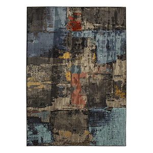 Elements Multicolor Onyx Rectangular: 5 Ft. 3 In. x 7 Ft. 10 In. Rug