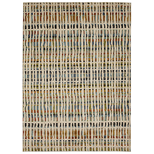 Elements Calliope Multicolor Oyster Rectangular: 5 Ft. 3 In. x 7 Ft. 10 In. Rug
