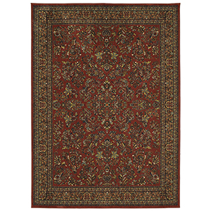 Spice Market Garnet Rectangular: 5 Ft. 3 In. x 7 Ft. 10 In. Rug
