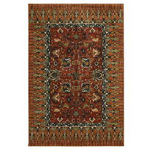 Spice Market Spice Rectangular: 3 Ft. 5 In. x 5 Ft. 5 In. Rug