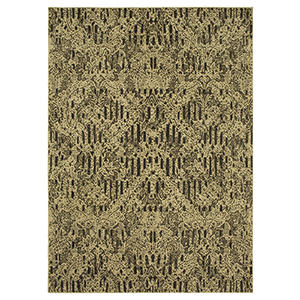Spice Market Charcoal Brown Rectangular: 3 Ft. 5 In. x 5 Ft. 5 In. Rug