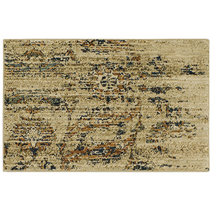 Spice Market Gold Cream Rectangular: 2 Ft. x 3 Ft. Rug