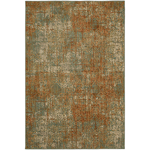 Spice Market Spice Aquamarine Rectangular: 3 Ft. 5 In. x 5 Ft. 5 In. Rug