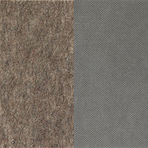 Dual Surface Gray Rectangular: 12 Ft. x 80 Ft. Rug Pad