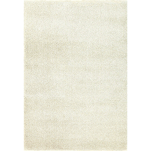 Prima Shag Ivory Rectangular: 5 Ft. 3 In. x 7 Ft. 7 In. Rug