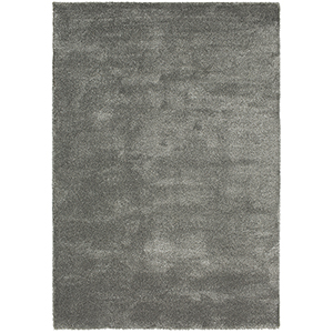 Prima Shag Silver Rectangular: 5 Ft. 3 In. x 7 Ft. 7 In. Rug