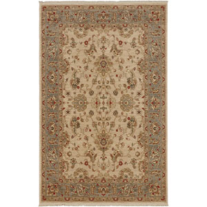 Shapura Cantilena Beige Rectangular: 4 Ft 3 In x 6 Ft Rug