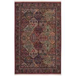 Original  Multi-Colored Rectangular: 2 Ft. 6 x 12 Ft. Rug