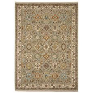 Sovereign Emir Gray Rectangular: 8 Ft. 8-Inch x 10 Ft. Area Rug
